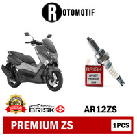 Busi Brisk Motor Vixion Aerox Nmax Satria Jupiter Premium Zs AR12ZS