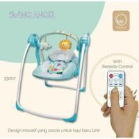 BabyElle Automatic Baby Swing Blue / Ayunan Bayi / Bouncer