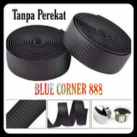 2 Roll Bartape Black Sepeda Balap Fixie with Perekat