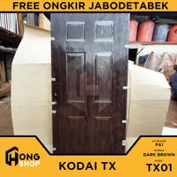 Pintu Utama / Pintu Kamar Tidur Baja 90x206cm KODAI TX01