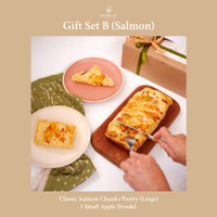 Gift Set B (1 Salmon Pastry + 3 Apple Strudel)