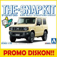 Aoshima 05779 1/32 SNAP KIT Suzuki Jimny (Chiffon Ivory Metallic)