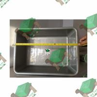 Kandang Plastik / Bak Rendam - Reptil / Torto / Kura / Kadal S Small