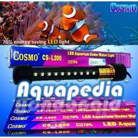 Cosmo CS-L800 Lampu LED 80cm Aquarium Underwater Light Warna Merah