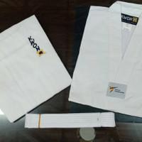 Baju Taekwondo Kwon Club Kerah Putih