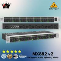 Behringer MX882 MX 882 MX-882 Mixer Audio Splitter Distributor 8 Ch