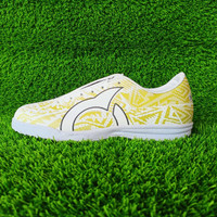 Gratis ongkir sepatu futsal Ortus Volt white gold - 39