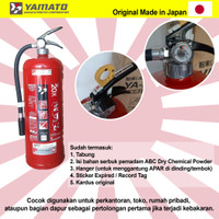 APAR YAMATO YA-20X ORIGINAL (Japan) Powder 6kg TABUNG ALAT PEMADAM API