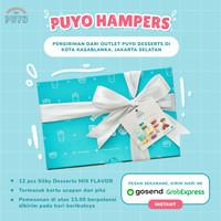 Hampers / Kado / Gift - Puding Puyo Silky Desserts isi 12 pcs