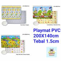 Playmat PVC Roll ChrisOlins Nach Alas Karpet Matras Bayi