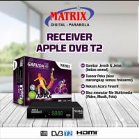 Receiver TV Set Top Box Matix Apple DVB T2 Digital DVBT2 Antena apple