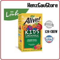 MULTIVITAMIN ANAK / Multivitamin ALIVE Chewable Children Natures way