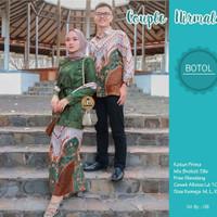 Batik Couple Gamis terlaris- Sarimbit Baju Batik Kebaya Modern