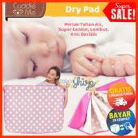 Cuddle Me Drypad Perlak Bayi Tahan Air Mattress Protector COD