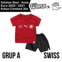 Setelan Euro Naked & Free Grup A (Swiss) Untuk Bayi& Anak Bahan Katun