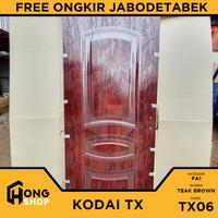 Pintu Utama / Pintu Kamar Tidur Baja 90x206cm KODAI TX06