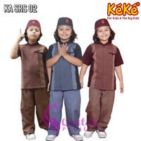 Qonitah Project SRS 02 Baju Koko Anak Keke Busana Muslim
