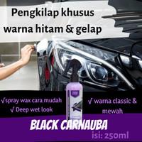 KHUSUS Poles Mobil HITAM & Warna Gelap | Pengkilap Black Carnauba Wax