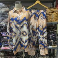 PIYAMA LD 120 TIBET baju setelan wanita kekinian setelan tie dye wanit