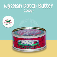 Wijsman Pure Dutch Butter 200gr Mentega Wisman Wysman