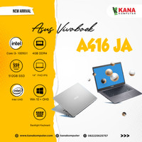Asus Vivobook A416JA VIPS352 Core i3 1005G1/SSD 512GB/4GB/OHS/FHD IPS
