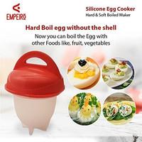 Silikon Egg Boil Cetakan Telur Rebus As Seen On TV