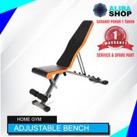 Adjustable Bench Press/ Bangku Kursi Fitness /Sit Up Multi Posisi