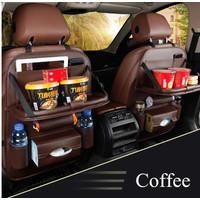Nissan March Car Seat Kursi Mobil Organizer Leather 1Set Cover