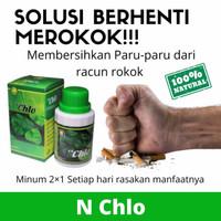 OBAT PARU-PARU BASAH MEMBERSIHKAN ASAP ROKOK DENGAN NCHLO ORIGINAL