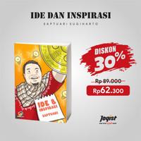 Buku Ide dan Inspirasi Saptuari Sugiharto