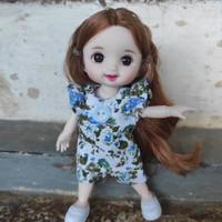 baju barbie bjd mini doll dimple yuna 16cm