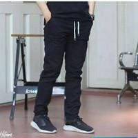 Celana Panjang Chino Pinggang Karet Celana Panjang Chino Pria