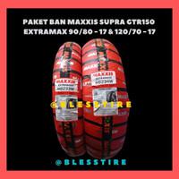 Paket Ban Motor Supra GTR 150 Maxxis Extramaxx 90/80-17 & 120/70-17