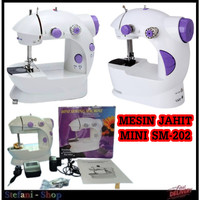 Mesin Jahit Mini Portable SM-202 Sewing Machine