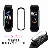 Screen Protector Jam Xiaomi Mi Band 6 Smartwatch Anti Gores