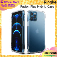 Case iPhone 12 / 12 Pro Ringke Fusion Plus Anti Crack Casing Original - Matte Clear