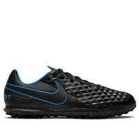 Sepatu Futsal Nike Legend 8 Club TF - Black/Black Lt Photo Blue