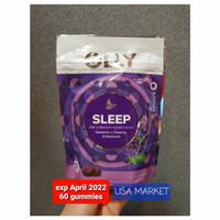 Olly sleep gummies melatonin L theanine untuk insomnia - 60 gummy
