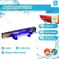 Lampu Led Celup Aquarium Aquascape Akuarium 3 Watt Tank 20 cm