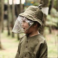PINE BUCKET HAT / Topi Anak (Face Shield) by KAIJA