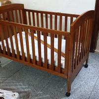 Preloved Baby Box Crib / Ranjang Bayi Bekas (harga Nego)