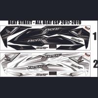 STRIPING THAILOOK HONDA ALL NEW BEAT ESP 2017-2019 VARIASI STIKER BEAT