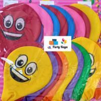 balon jumbo karakter smile / Balon emoji jumbo