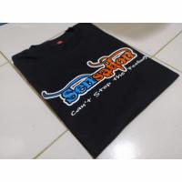 Kaos bus SENSATION PO HARYANTO / t-shirt busmania - Hitam, S