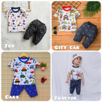Setelan Baju Bayi Laki-laki Usia 6 bulan sampai 3 tahun