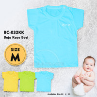 Kaos Anak Bayi Balita Baju Harian Bayi Oblong Setali Polos BC-032KK
