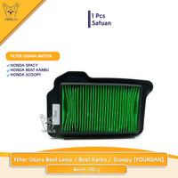 Filter Udara BEAT LAMA / BEAT Karbu / Scoopy [YORDAN]