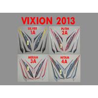 Sticker Vixion 2013 Motor Yamaha Lis List Striping Stripping Stiker