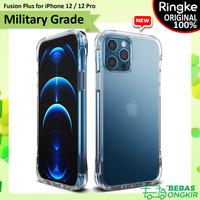 Case iPhone 12 / 12 Pro Ringke Fusion Plus Anti Crack Casing - Clear