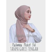 Pasmina Plisket Shawl Full/Jilbab Plisket Diamond/Kerudung Pashmina